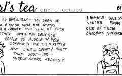 Cartoon: Earl's Tea on Caucuses
