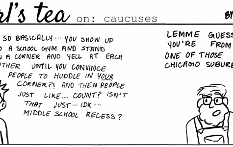 Cartoon: Earl's Tea on Caucuses