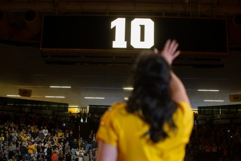 Photos: Iowa Swimming vs. Michigan State, UNI