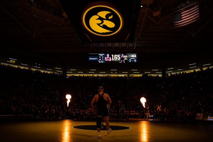 Iowa%27s+Alex+Marinelli+prepares+to+wrestle+during+a+wrestling+dual+meet+between+No.+1+Iowa+and+No.+4+Ohio+State+at+Carver-Hawkeye+Arena+on+Friday%2C+Jan.+24%2C+2020.+The+Hawkeyes+defeated+the+Buckeyes%2C+24-10.