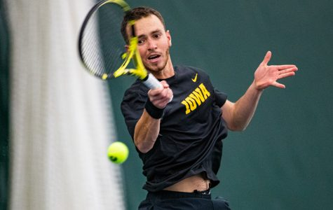 Photos: Iowa men's tennis vs. Texas Tech (1/16/2020)