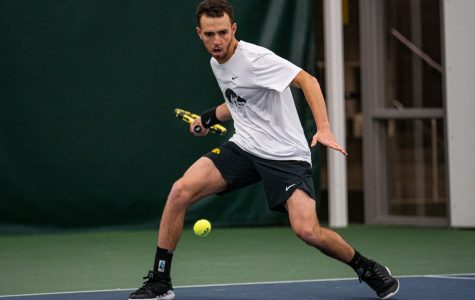 Iowa tennis to compete in four weekend matches