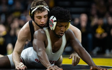Photos: No. 1 Iowa wrestling vs. No. 4 Ohio State (1/24/2020)