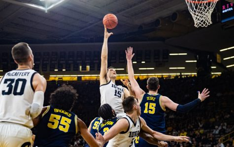 Kriener provides spark off the bench against Michigan