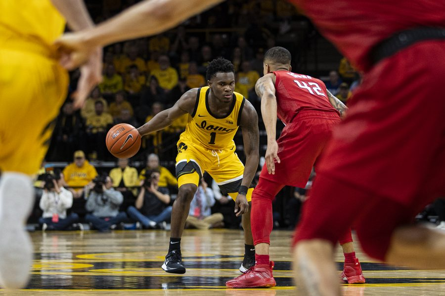 Toussaint brings speed, hustle in win over Rutgers