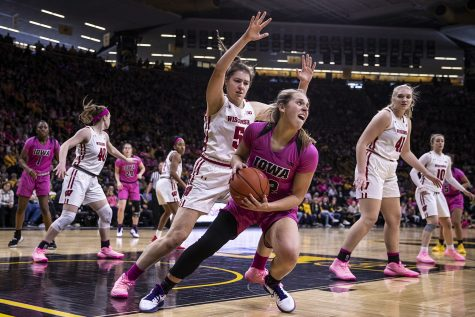 Photos: Women's Basketball vs. Wisconsin