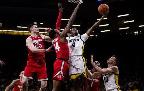 Supporting cast helps Iowa down Ohio State