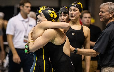 Iowa keeps pace on day three of Big Ten Championships