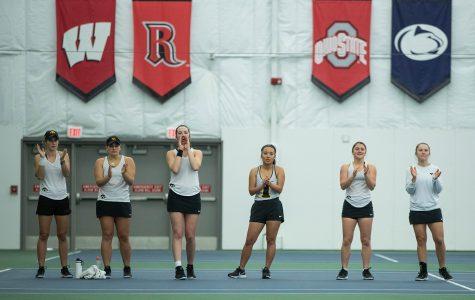 Photos: Iowa women's tennis vs. Kansas State (2/23/20)