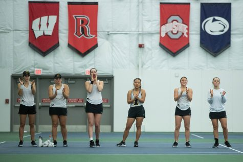 Photos: Iowa women's tennis vs. Kansas State (2/23/20)