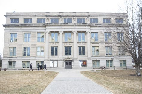 Macbride Hall is seen on Wednesday, Feb. 19, 2020.