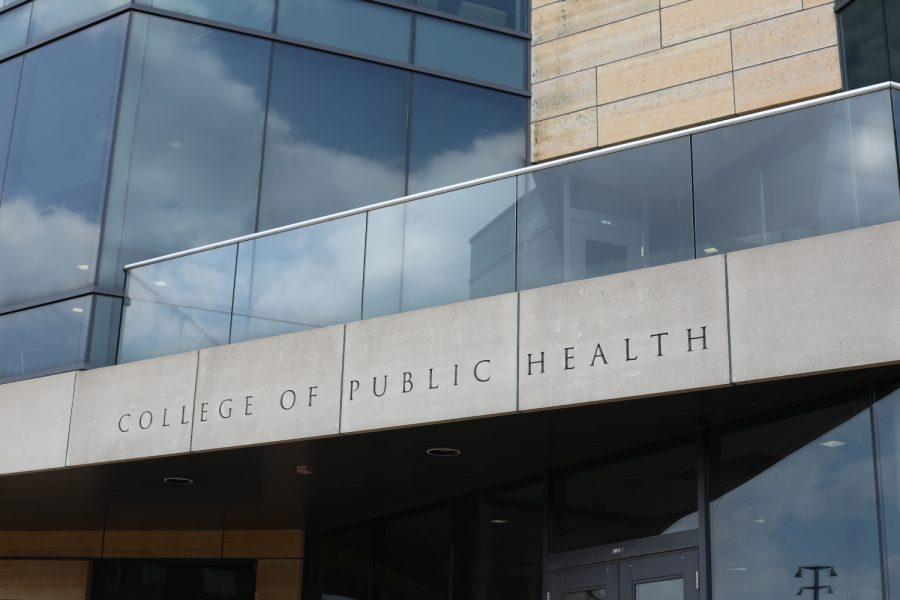 The College of Public Health Building can be seen on Sunday, Sept. 15, 2019. The College of Public Health is working with the College of Pharmacy to examine the role of high risk medication in falls in the elderly.