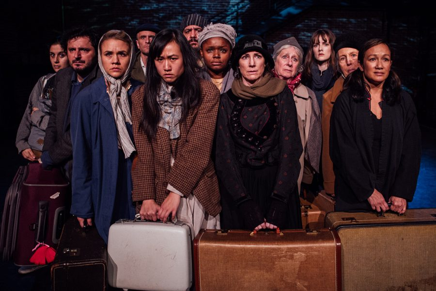 Twelve stories, one heart: Hancher play narrates stories of 12 immigrants' journeys to America