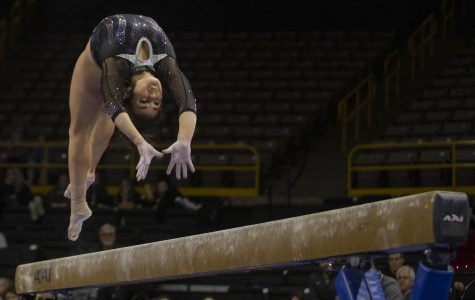 Women's gymnastics looking for complete performance at Big Five meet