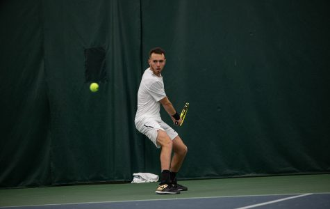 Iowa tennis to compete in three home matches this weekend