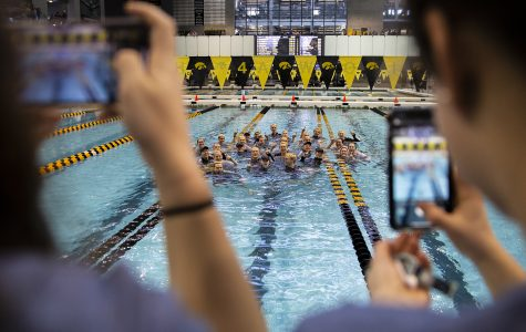 New team dynamics spur Iowa City West boys' swimming state title