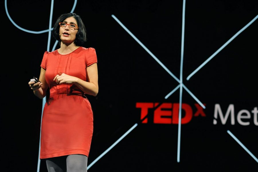 Political comedian Negin Farsad will bring her TED talk inspired comedy to Hancher
