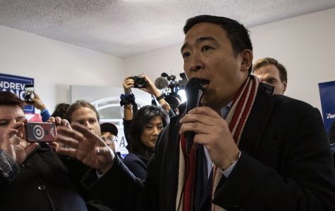 Andrew Yang, Michael Bennet, exit 2020 presidential race