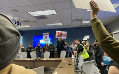 Protesters break up Iowa regents meeting asking for tuition freeze