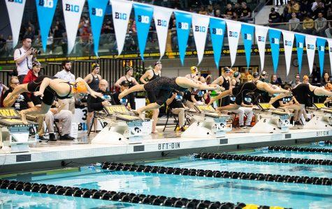 Iowa swimming finishes ninth at Big Ten Championships