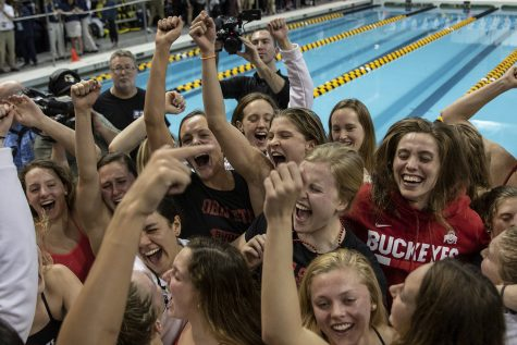 Photos: Women's Big 10 Swimming and Diving championships (2/22/20)