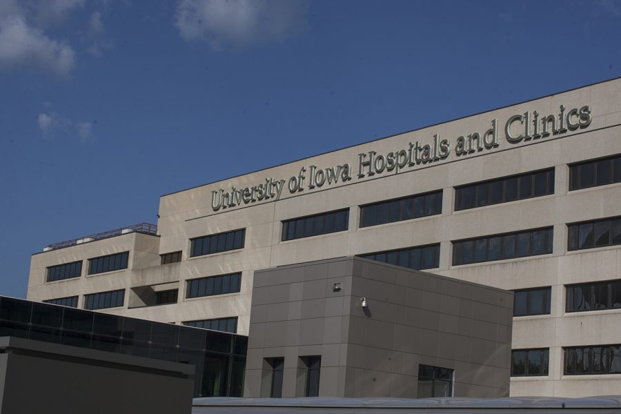 University of Iowa Hospitals and Clinics is seen on Sept. 17, 2018.