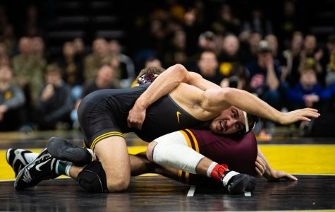 Iowa set to 'move on' after Big Ten duals title