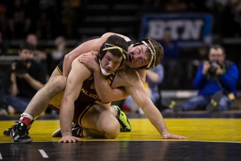 Photo: Wrestling vs. Lehigh (12/8/18)