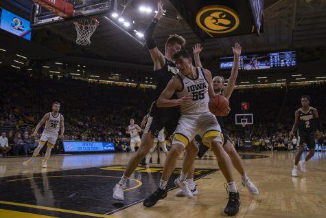 Photos: Men's Basketball Iowa vs. Purdue (3/3/20)
