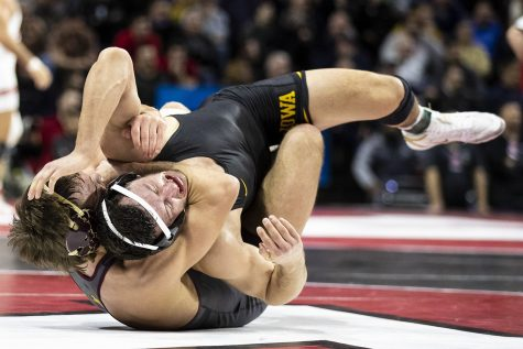 Photos: 2020 Big Ten Wrestling Championships Session Two