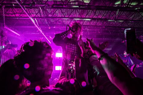 "Up and coming rapper, Mod Sun headlines at Gabes in downtown Iowa City on Thursday, March 5, 2020. ""Mod Sun is like positive hippy rap""- Davenport citizen/Mod Sun fan, Chandler Carpenter."