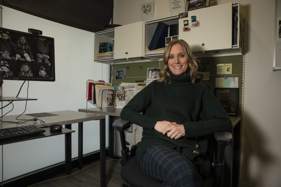 Senior Director of UI Wellness Megan Hammes poses for a portrait in her office on Feb. 28, 2020. The upcoming weight management program is designed for University of Iowa faculty.