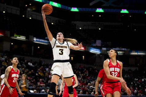 Iowa focused on NCAA Tournament after blowout Big Ten loss