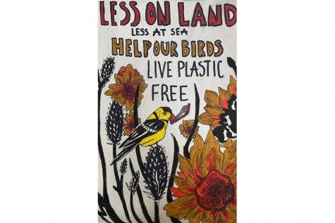 Student Spotlight: Kelsey Turnis uses art to explore environmental crises