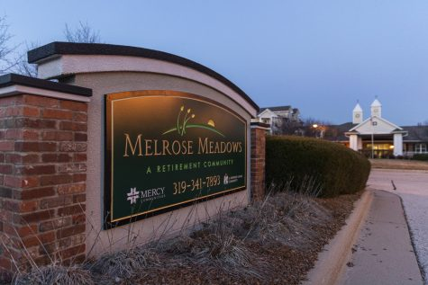 Melrose Meadows Retirement Community is seen on Wednesday, March 11, 2020.
