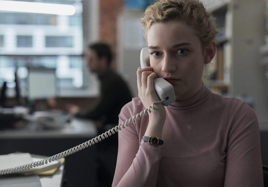 Julia Garner in a scene from The Assistant [Bleecker Street]