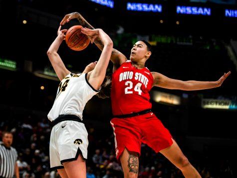 Photos: Iowa Women's B-Ball Big Ten game against Ohio State-(3/6/20)