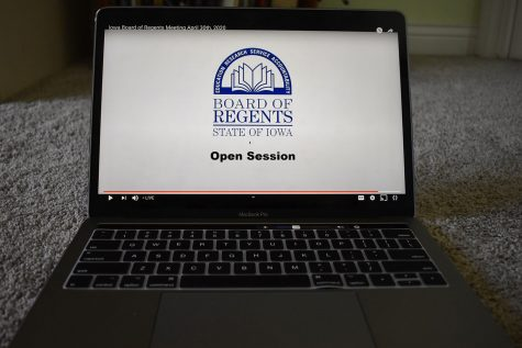 The Board of Regents holds a meeting discussing bond sales and loss of revenue due to COVID-19 on Youtube live stream  on Thursday, April 30, 2020.