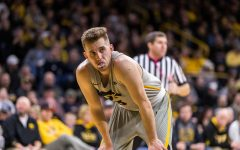 Iowa guard Jordan Bohannon #3 during a basketball game against Michigan State on Thursday, Jan. 24, 2019. The Spartans defeated the Hawkeyes 82-67.