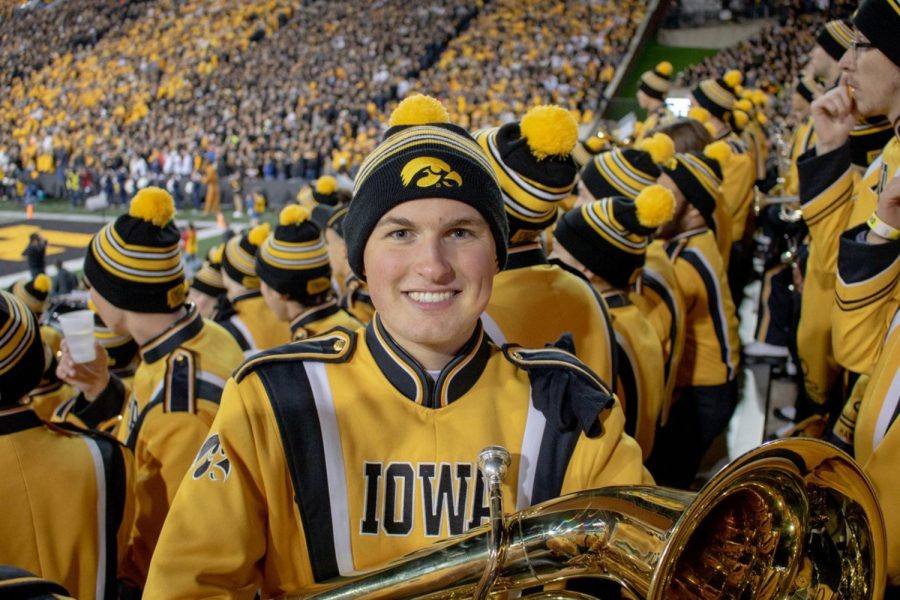 UI senior to graduate as first REACH student in Hawkeye Marching Band