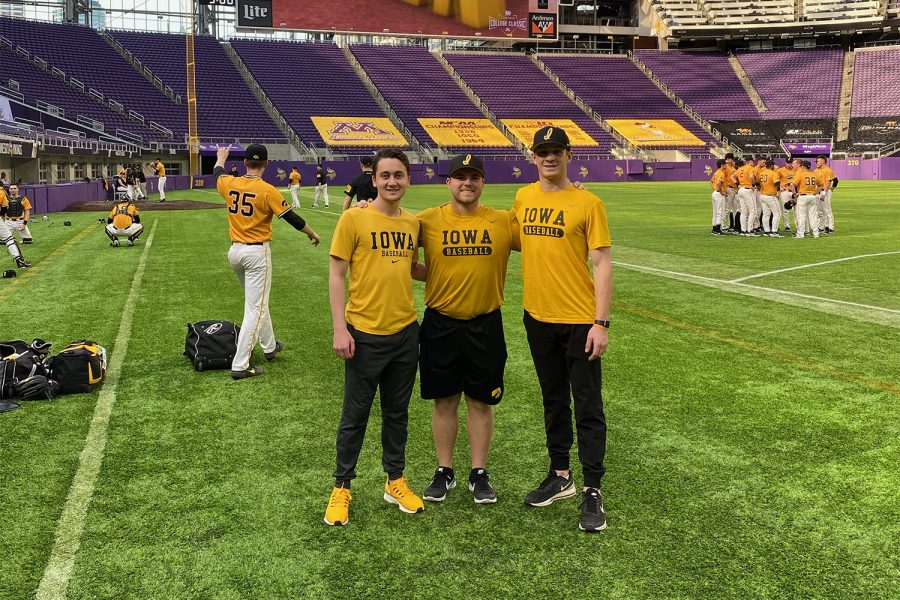 Iowa baseball student managers making the best out of uncertain time