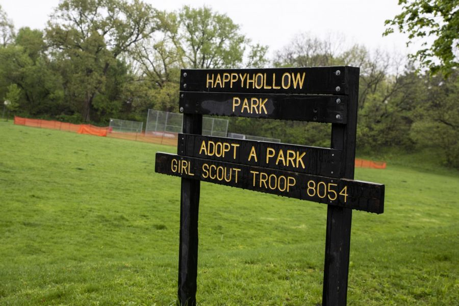 """Happy Hollow Park's """"skinned"""" infield converted to turfgrass"""