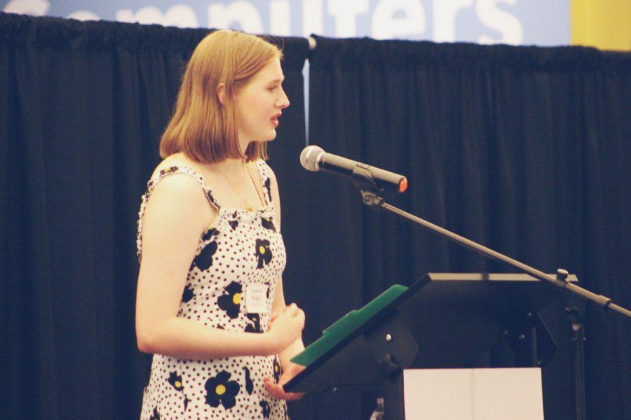 Student Spotlight:  UI transfer student explores trauma through slam poetry and creative nonfiction essays