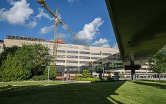 University of Iowa Hospitals and Clinics are seen on Tuesday, June 23, 2020.