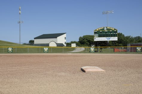 A softball field is seen on Saturday, June 13 at West High School in Iowa City.