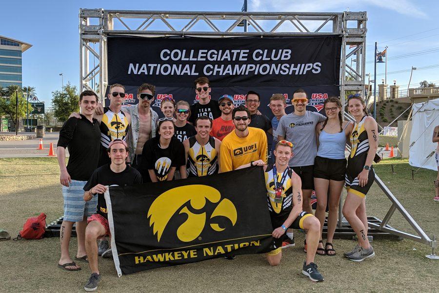 TriHawks at 2019 national meet in Tempe, Arizona.