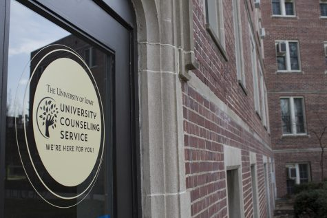The University Counseling Service is seen on April 16, 2019.