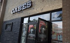 The front entrance to Gabe's is seen on Thursday, July 16 in Iowa City.