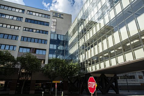University of Iowa Hospitals and Clinics are seen on Tuesday, June 23, 2020. (Tate Hildyard/The Daily Iowan)