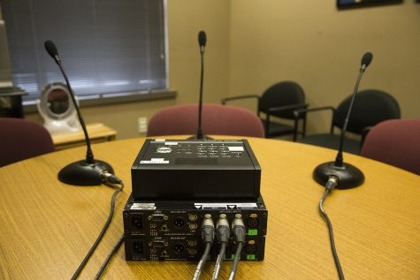 Audio equipment used for Iowa City